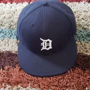 NEW ERA DETROIT TIGERS FITTED HAT SZ 7 5/8